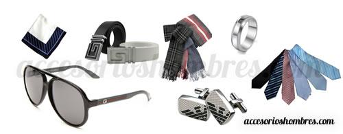 accesorios hombres moda