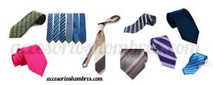 corbatas hombres accesorios moda