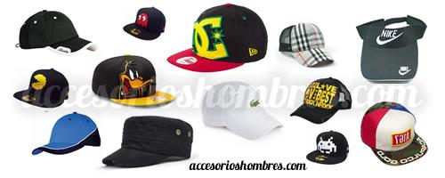 Gorras para hombres, un accesorio más que deportivo y a la moda