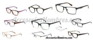 lentes aumento moda hombres armazones