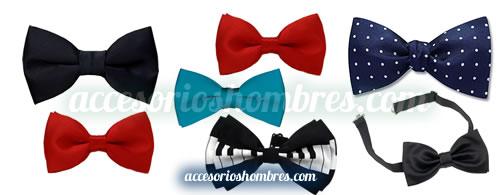 moños hombres bonitos corbatas